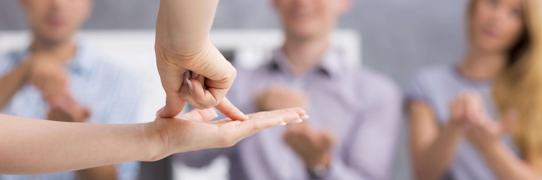 Ya está abierta la preinscripción para el curso de iniciación a la lengua de signos española (28 enero – 21 marzo 2019)