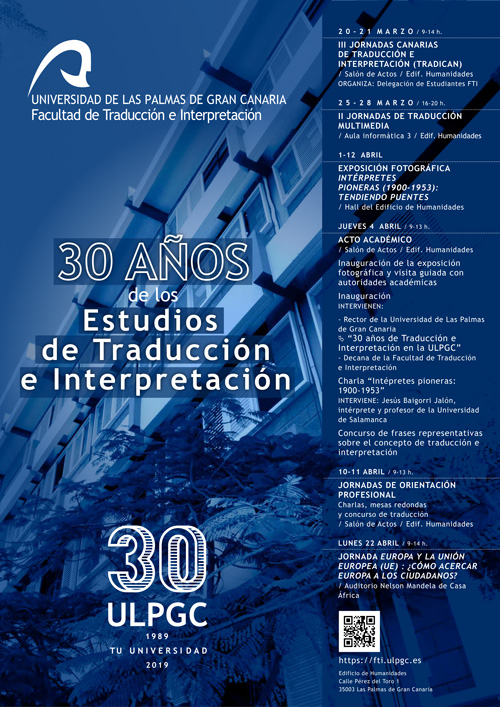 Calendario Upv 2020.Facultad De Traduccion E Interpretacion De La Universidad De Las